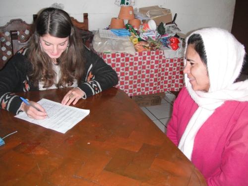 Interviewing Community Members